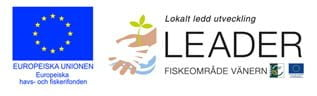 Webbplatsen finansierad via Leader Fiskeområde Vänern och Europeiska Havs- och fiskerifonden.